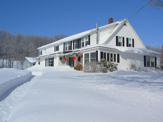 Combes Family Inn: Winter is here!