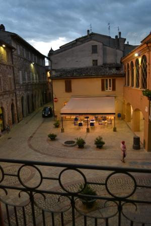 Cannara, Italia: View from our window