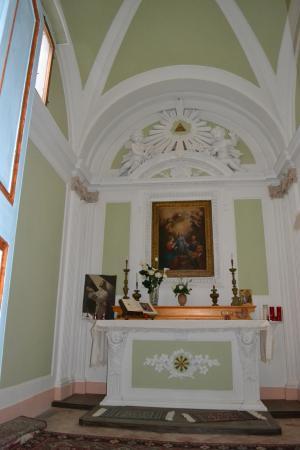 Palazzo delle Signorine: chapel in the palazzo