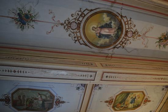 Palazzo delle Signorine: Epica room ceiling