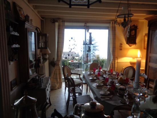 Les Terrasses du Lac: stanza della colazione