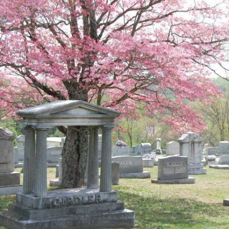 The Somerset City Cemetery is beautiful in the springtime.