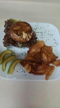 Chocolate Fusion: Portobelo burger