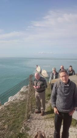 Totland, UK: View from the battery