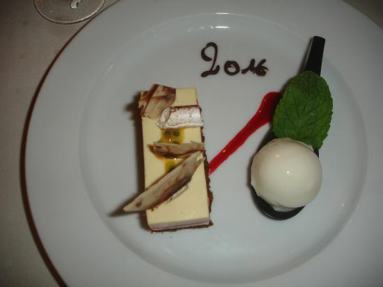 Obersteigen, Frankrig: Dessert