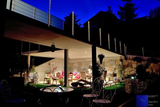 """Grimisuat, Suisse : Une """"terrasse"""" avec une vue imprenable !"""