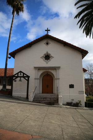 Mission San Rafael Arcangel: Front of mission