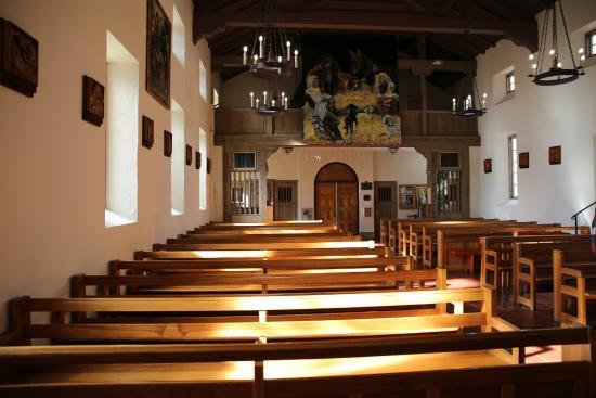 Mission San Rafael Arcangel: Inside the mission