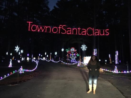 Santa Claus Land of Lights Photo