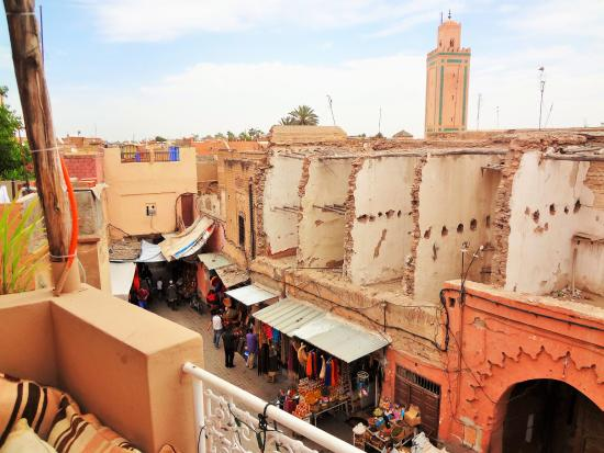 Vista Desde Terraza Picture Of Atay Cafe Food Marrakech