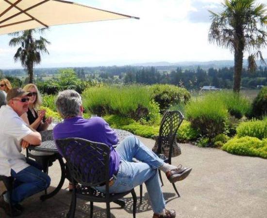 Carlton, Oregón: Wine tasting at Anne Amie