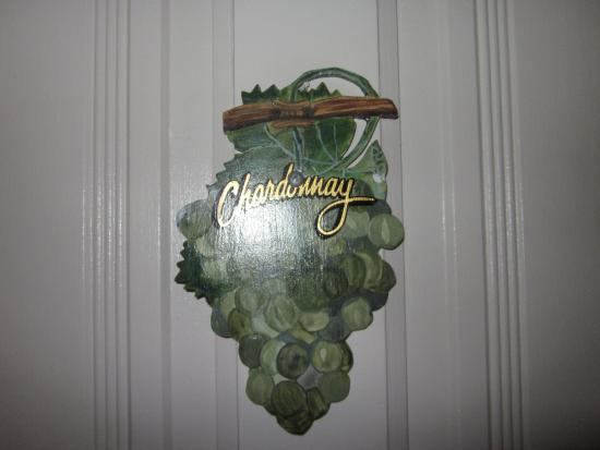 La Belle Epoque : Door sign of our room