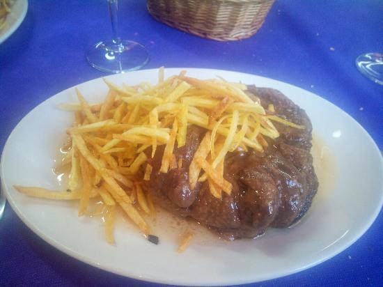 Comida casera en un men de fin de semana con una relaci n Menu comida casera