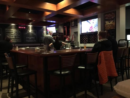 Keegan's Grill & Taproom: Bar area.