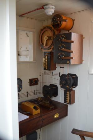 HMS M.33: The radio room