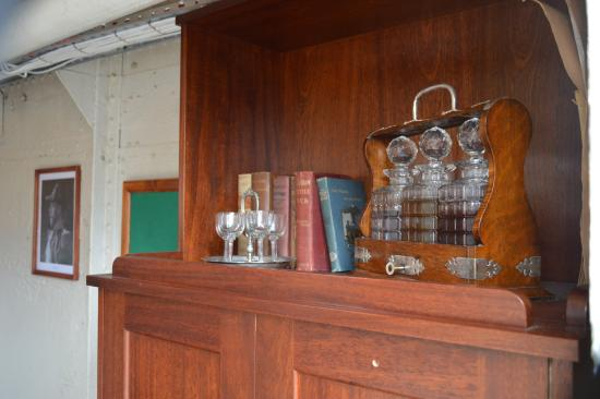 HMS M.33: One of the ship's officer's cabins