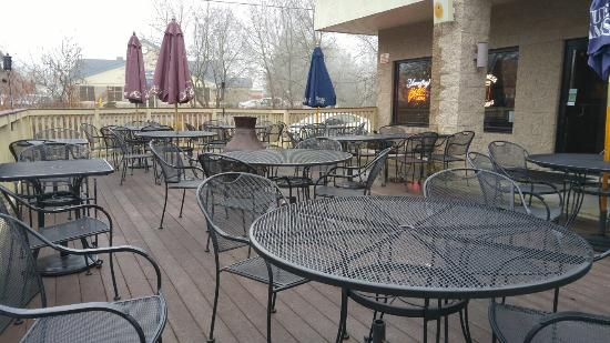 Orwigsburg, PA: Outdoor dining area