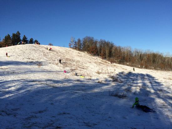 Walker, MN: Sledding hill