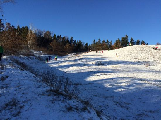 Walker, Μινεσότα: Sledding hill