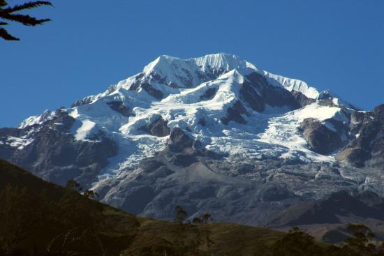 Sorata, Bolívia: Blick auf den Illampu