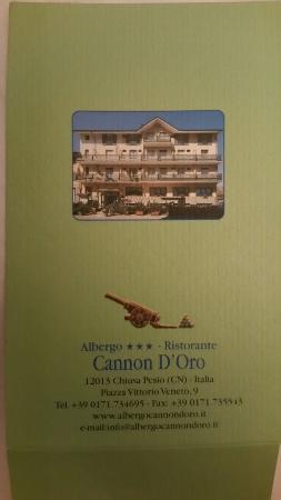 Cannon d'Oro