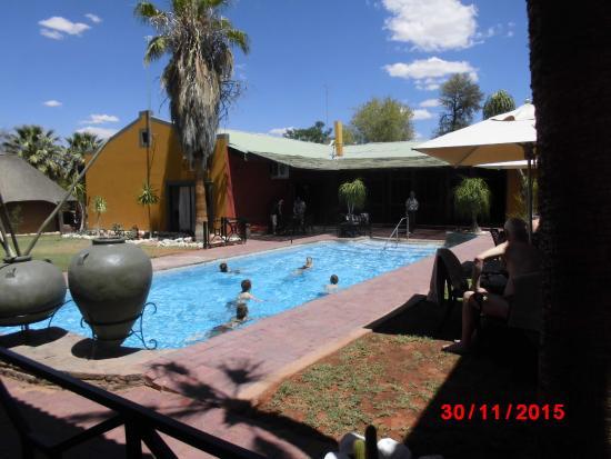 Gochas, Namibia: Innenbereich der Lodge