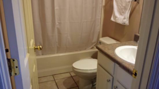Hollister, MO: Tiny bathroom