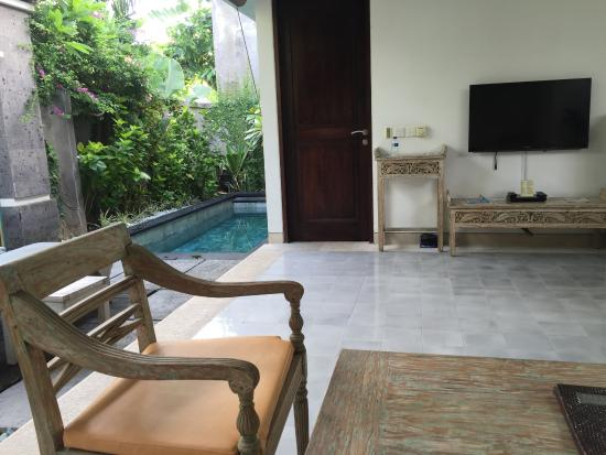 looking back out at pool picture of new pondok sara villa rh tripadvisor co uk