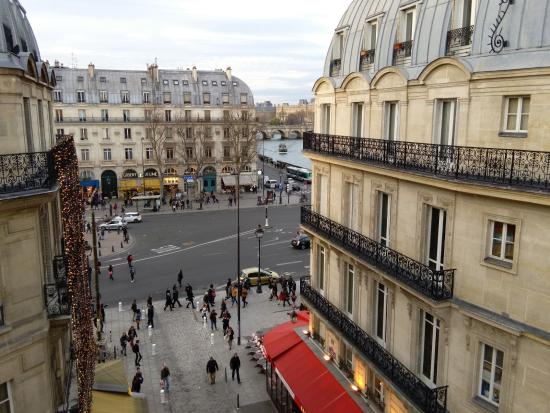 view from fifth floor hotel albe st michel paris picture of hotel albe saint michel paris. Black Bedroom Furniture Sets. Home Design Ideas