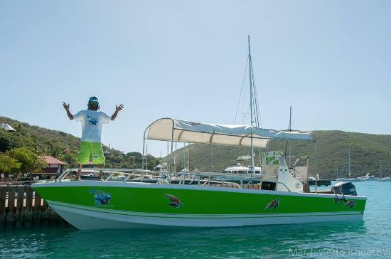 Gumption's Tours BVI : you're host Gumption is ready for you...