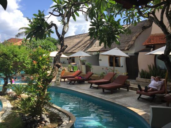 Great Backyard Pools : Kuta Lagoon Resort & Pool Villa Great Swimming pool