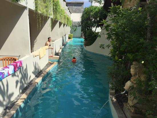 Kuta Lagoon Resort & Pool Villa Great Swimming pool