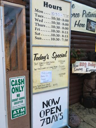 Midlothian, IL : Hours and CASH ONLY!