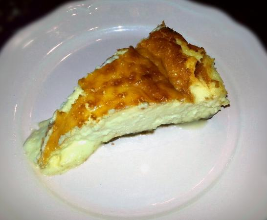 Camaleno, Spanien: Tarta de queso.