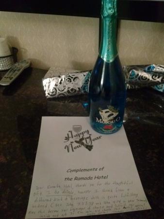 Ramada Bronx: A New Years Eve gift from Ramada Inn my reply pic 1
