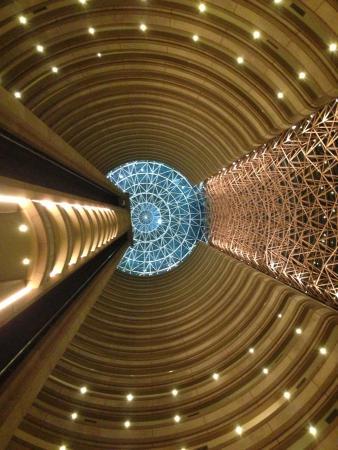 Tower internal view