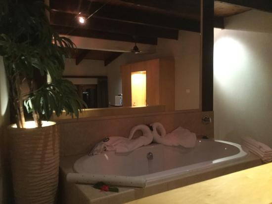 Coco de Mer - Black Parrot Suites: bath