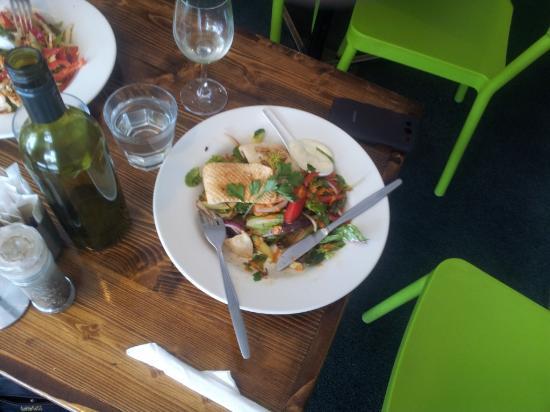 Lilydale, Australia: Calamari Salad