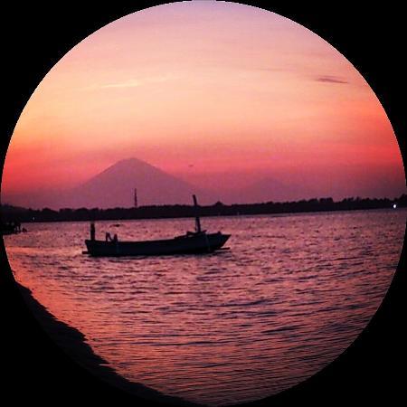Vista Mare Italian Restaurant: Beautiful Sunset