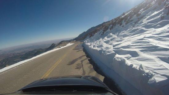 Pikes Peak: Don't forget to turn!