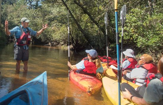Shamong, NJ: PInelands Adventures also offer guided paddling tours with a Pine Barrens naturalist.