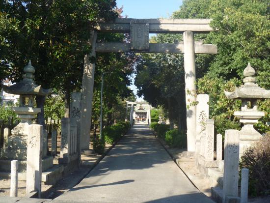 Hojo Temmangu Shrine