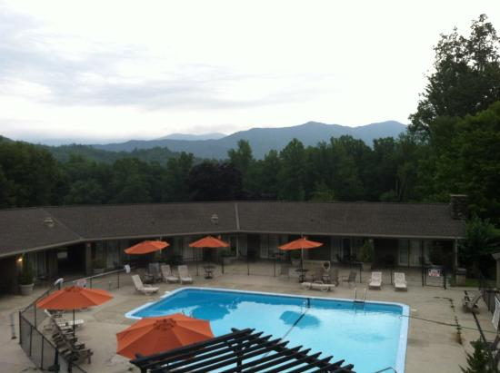 Fontana Village Resort: View from Lodge Balcony 2014
