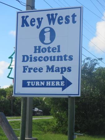 Key West Visitors Center: not as good as other visitor centers in the Keys