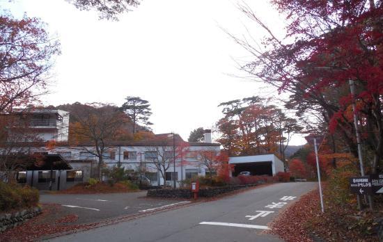 建物は横長 , Picture of Kampo no Yado Shiobara, Nasushiobara