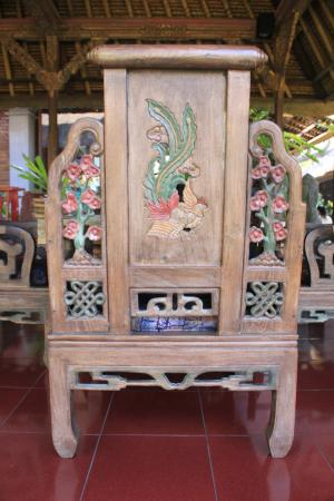 Ananda Cottages: Beautiful woodwork