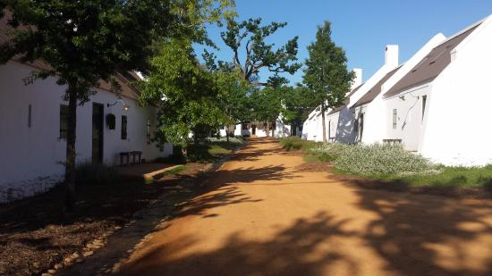 Babylonstoren Farm Hotel: Rooms in these cottages