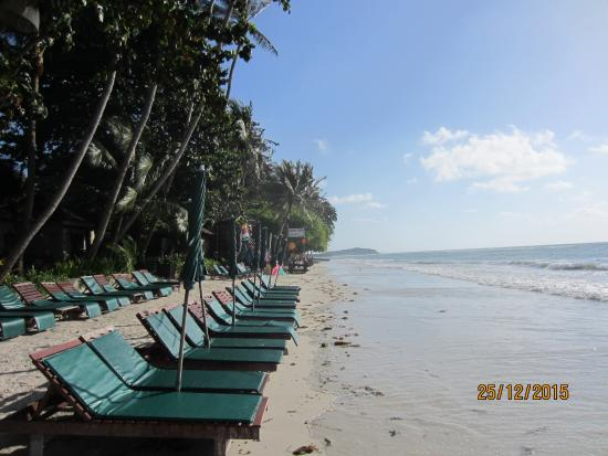 Baan Chaweng Beach Resort & Spa: Resort beach side
