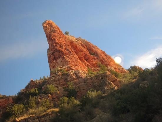 Verde Canyon Railroad: Rock