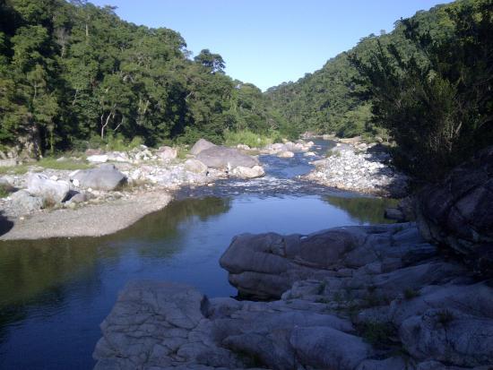 Jungle River Lodge: Rio frente al hotel - 1